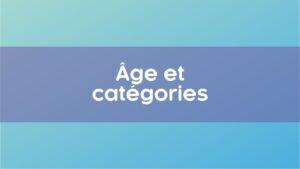 Age categories junior