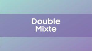 Championnat Double Mixte
